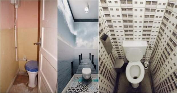 20 потрясающих идей дизайна туалета, которые вдохновят на ремонт