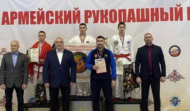 Оренбуржцы завоевали четыре медали на первенстве России по армейскому рукопашному бою