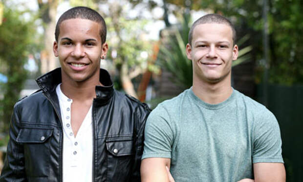Такие разные близнецы: братья и сёстры разной расы близнецы, расы, факты, фото
