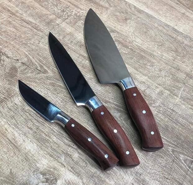 Какие ножи должны быть на кухне???