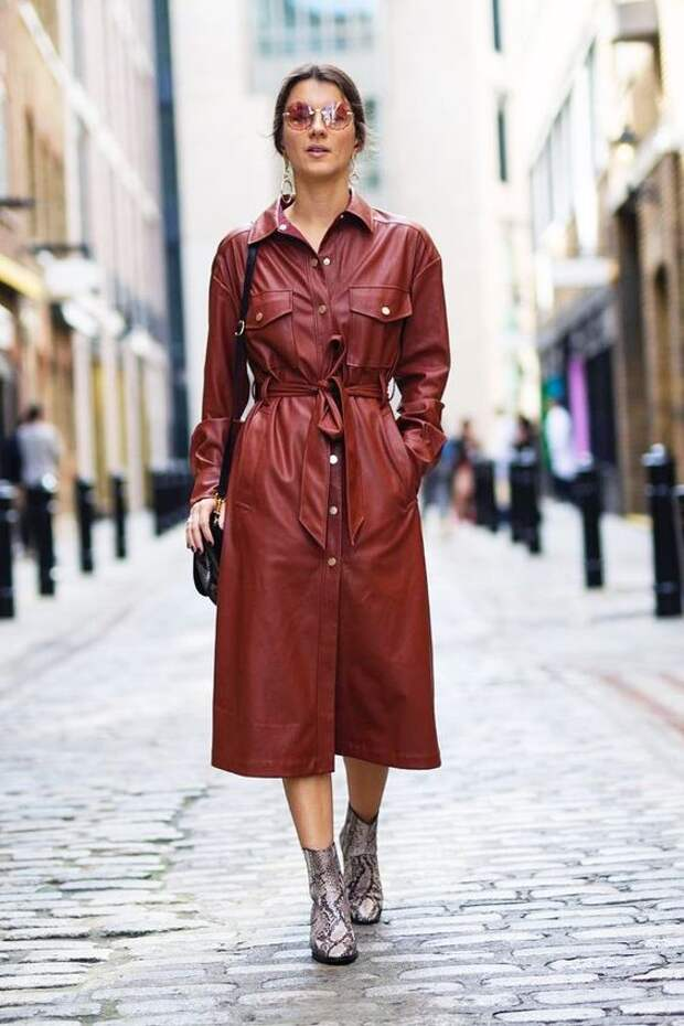 Кожаная одежда 2021