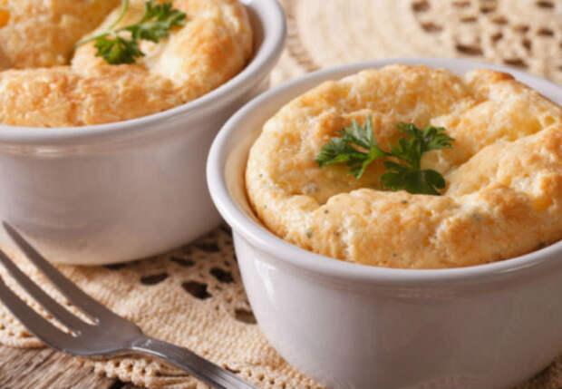 Сырное суфле: вместо яичницы и сырников