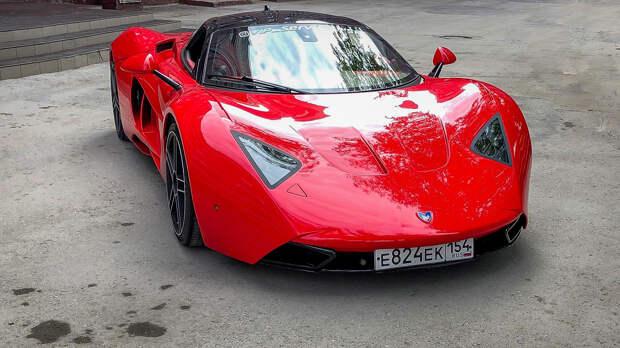 5 умопомрачительных концептов российских спорткаров (ФОТО)
