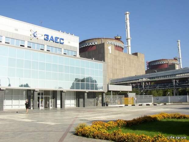 На Запорожской АЭС отключён шестой энергоблок