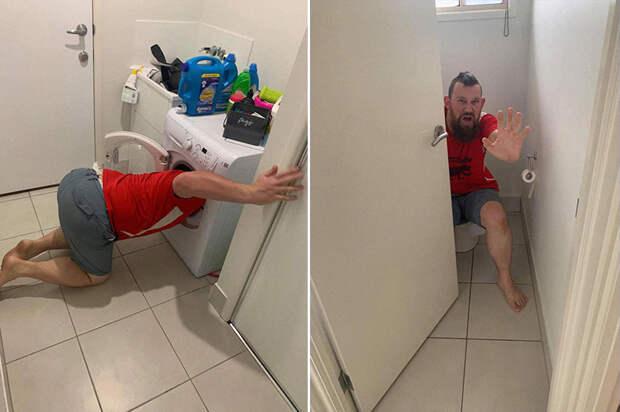 Житель Австралии креативно подошел к продаже дома