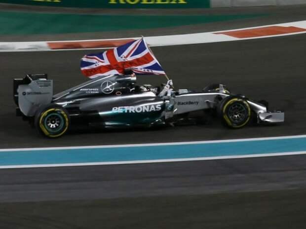 Формула 1: триумф Хэмилтона и Mercedes