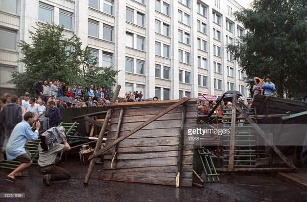 Москва на баррикадах. Как победили ГКЧП.