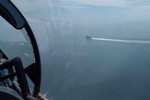 Никто, кроме Украины, не поддержал Британию с ее эсминцем в Черном море