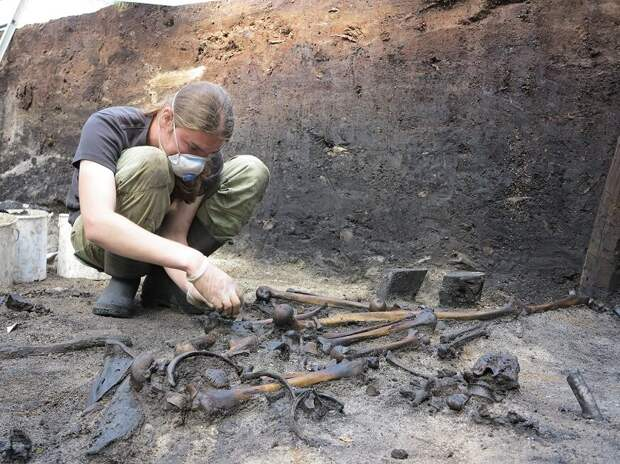 Найдено неизвестное поле боя I века н.э.