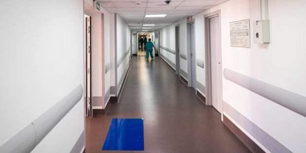 Собянин открыл стационар для пожилых пациентов с коронавирусом / Фото: mos.ru