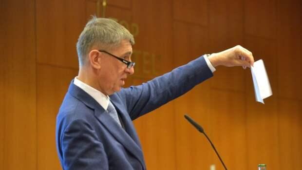 Премьер Чехии скорректировал обвинения в адрес России