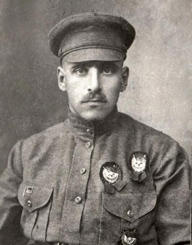 Василий Блюхер, командир 1-го стрелкового корпуса, 1922 г. wikimedia