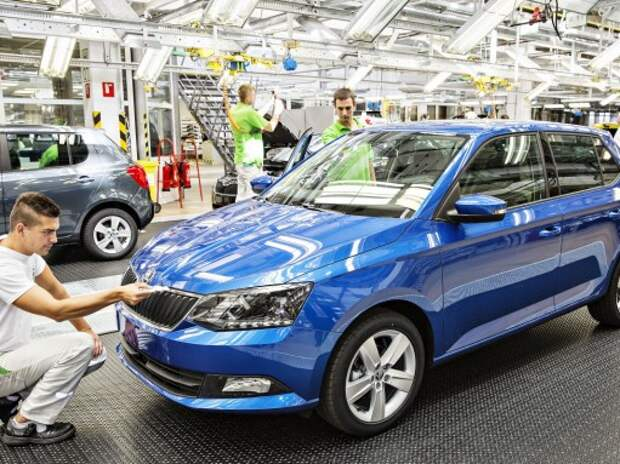 В Чехии стартовало производство новой Skoda Fabia