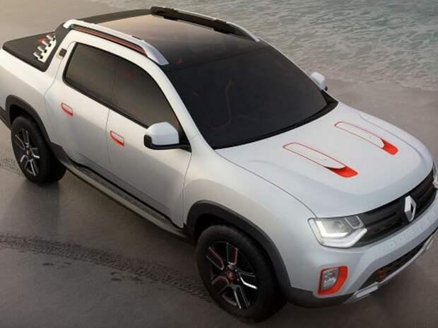 В Аргентине засняли 4-дверный пикап Renault Duster