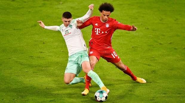 «Бавария» не смогла обыграть «Вердер», потеряв очки во второй раз в сезоне Бундеслиги