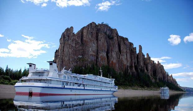 Фантастическая природа России: Ленские столбы в Якутии