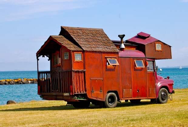 Дома-грузовики— диковатый, номилый пережиток эпохи хиппи