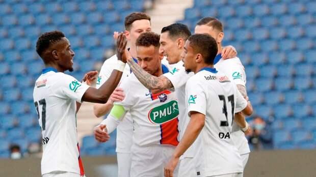Хет-трик Икарди помог «ПСЖ» разгромить «Анже» в четвертьфинале Кубка Франции