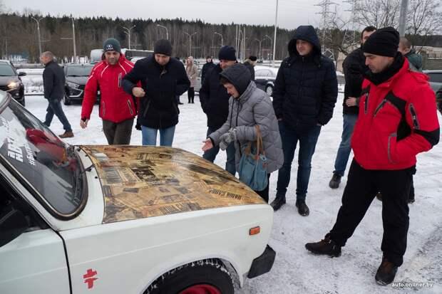 Фоторепортаж: в Минске собрались белорусские любители Lada