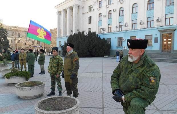 Избирательное внимание: казаки и дворец в Геленджике