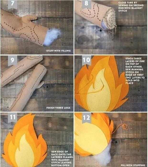 Огонь детям (не?) игрушка DIY