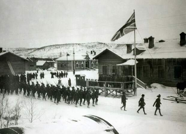 интервенция Архангельск 1918г