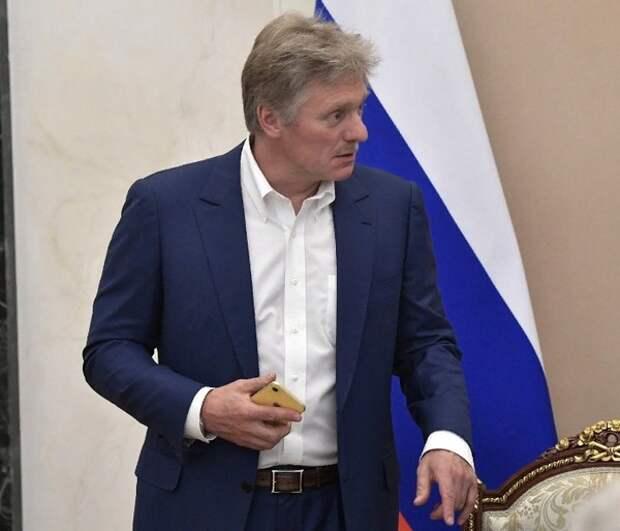 Песков объяснил внесение законопроекта со ссылками на ещё не принятую Конституцию