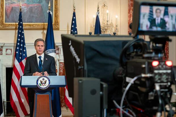 Блинкен рассказал цели политики США в отношении с КНР