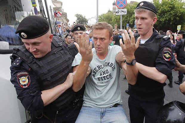 ФСИН намерена задержать Навального