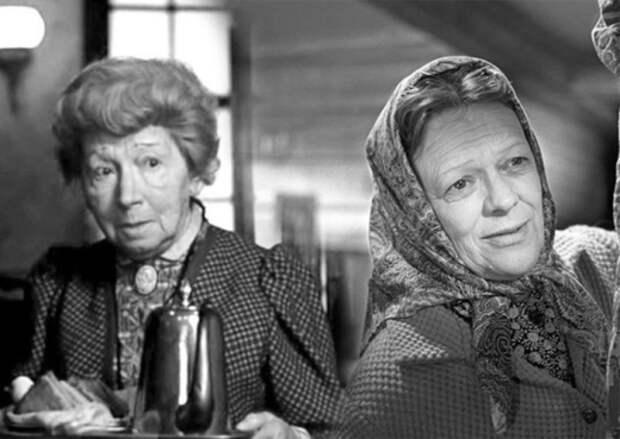 А как выглядели самые известные бабушки советского кино в молодости?