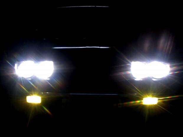 Почти как «ангельские глазки» BMW.   Фото: drive2.ru.