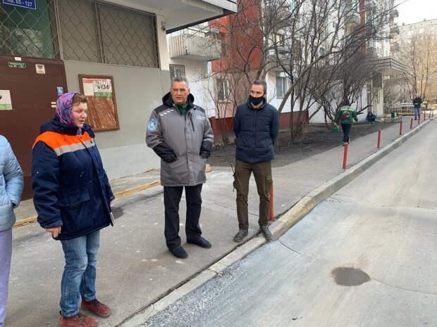 В Юрловском проезде отремонтируют асфальт