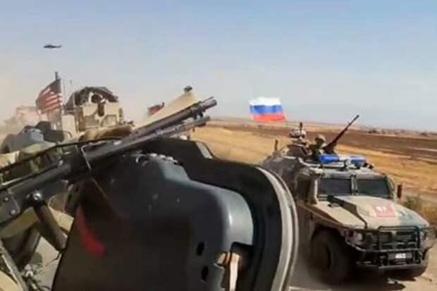 Военные США пострадали в столкновении с российским патрулем в Сирии