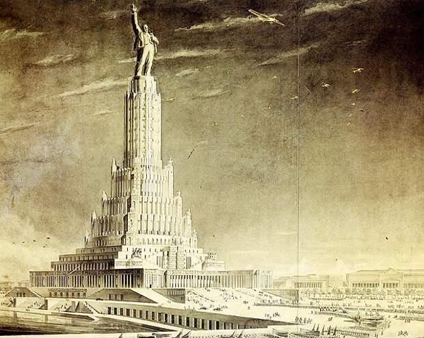 Невоплощенные проекты советской архитектуры