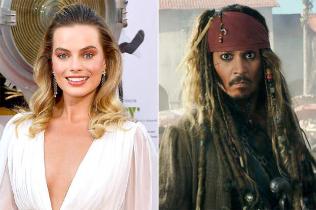 Марго Робби возглавит пираток Карибского моря