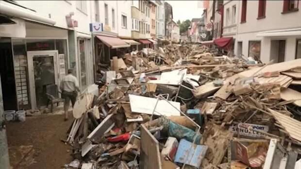«Наводнение века» в Европе: ущерба на десятки миллиардов