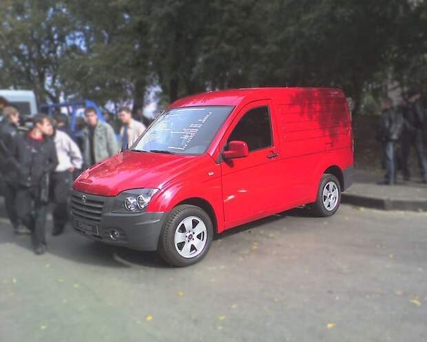 ГАЗ-2332 «CityVan» автомобили, газ, фоторепортаж