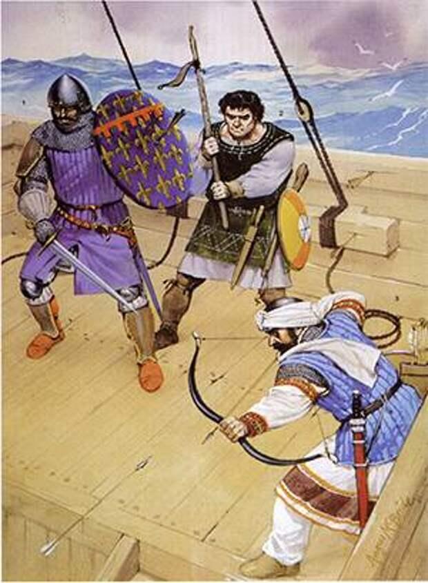 Война Сицилийской вечерни. Части 1-3