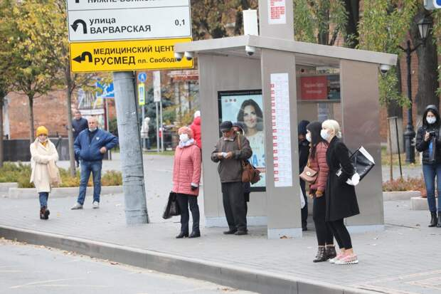Установку «умных остановок» в Нижнем Новгороде завершат к июню
