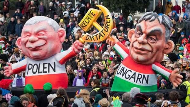 Черная метка Сороса Польше и Венгрии