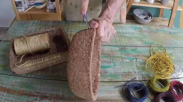 Крутая идея использования обычных древесных опилок