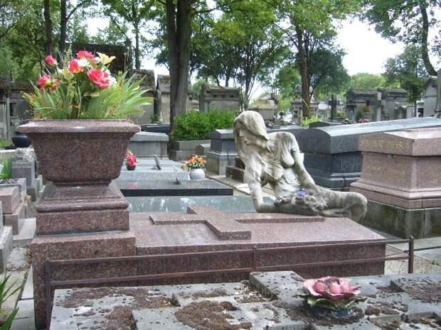 Надгробие Клео де Мерод.