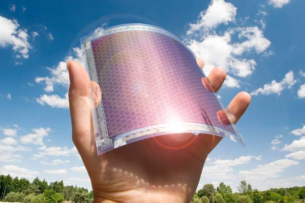Ученые разрабатывают прозрачный высокопроизводительный материал для гибких дисплеев и солнечных панелей