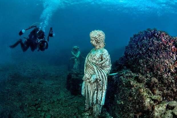 Подводный музей Античности: как затонул древнеримский город Байи