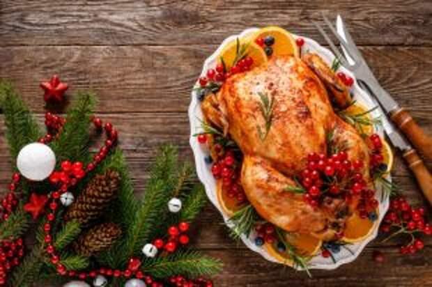 Цыпленок с хрустящей корочкой. Какие горячие блюда приготовить на Новый год