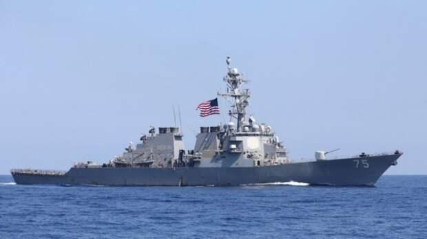 США отменили отправку военных кораблей в Чёрное море