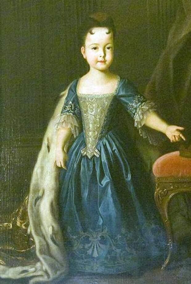 Портрет Натальи Петровны. Автор – Луи Каравак