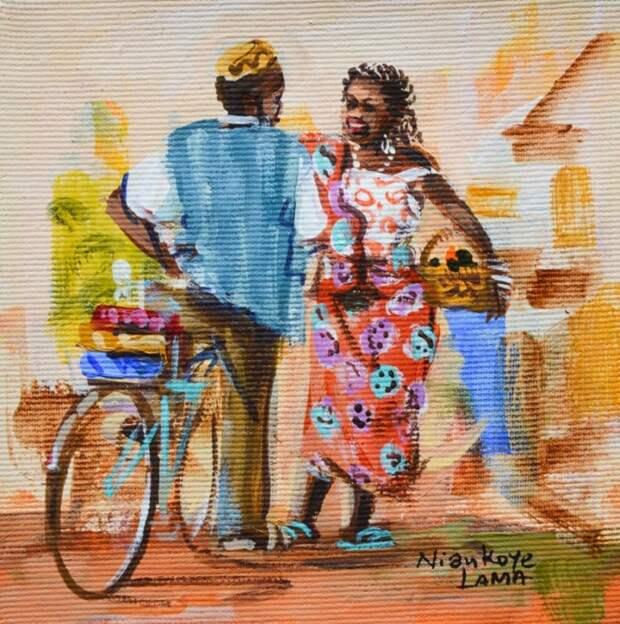 Яркие краски Африки.