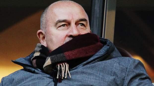 Черчесов со своим штабом посетил матч «Уфа» — «Торпедо»: фото