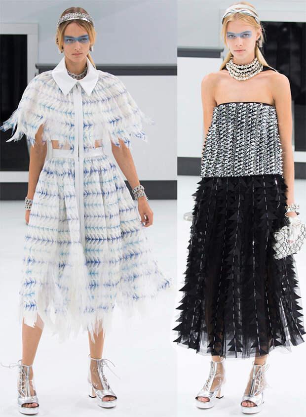 Платья Шанель весна-лето 2016